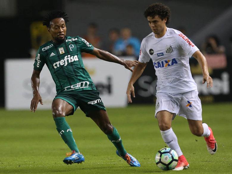 Santos 1x0 Palmeiras