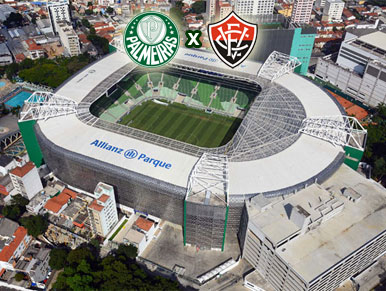 Pré-jogo Palmeiras x Vitória