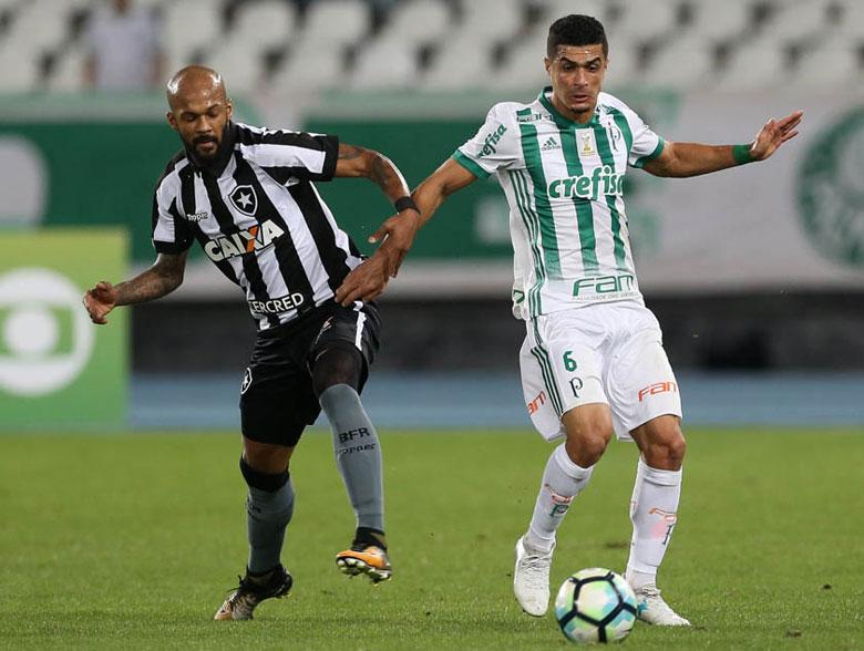 Botafogo 1x2 Palmeiras