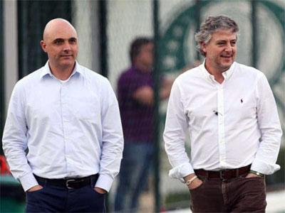 Paulo Nobre e Mauricio Galiotte