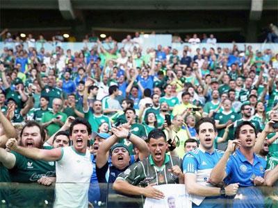 Torcida do Palmeiras no Allianz Parque