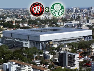 Pré-jogo Atlético-PR x Palmeiras