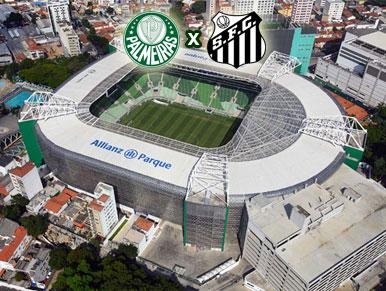 Pré-jogo Palmeiras x Santos