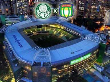 Pré-jogo Palmeiras x São Caetano