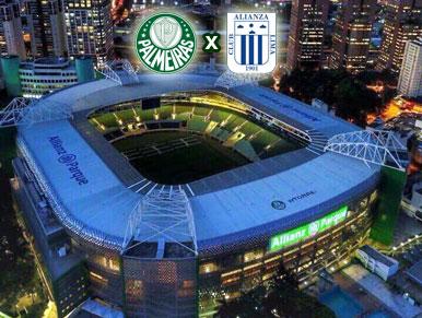 Pré-jogo Palmeiras x Alianza Lima