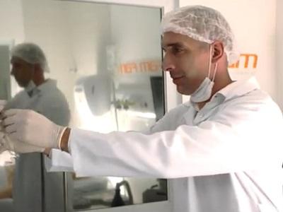 Fernando Prass em comercial da FAM