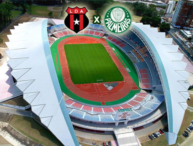 Pré-jogo: Alajuelense x Palmeiras