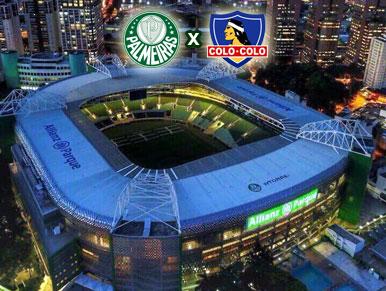 Pré-jogo Palmeiras x Colo-Colo