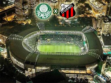 Pré-jogo Palmeiras x Ituano