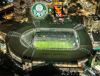 Pré-jogo Palmeiras x Melgar