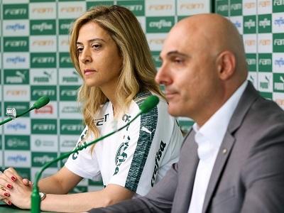 Leila Pereira e Maurício Galiotte