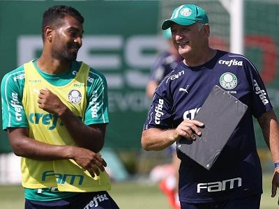 Thiago Santos e Felipão