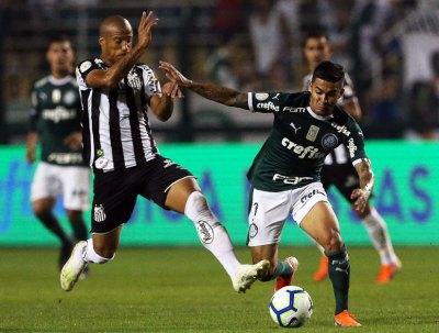 Palmeiras 4x0 Santos