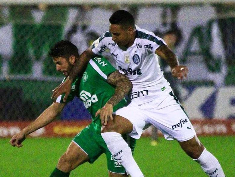 Chapecoense 1x2 Palmeiras