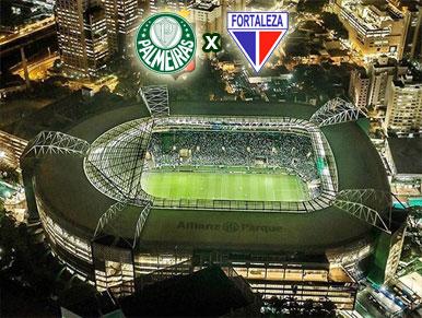 Pré-jogo Palmeiras x Fortaleza