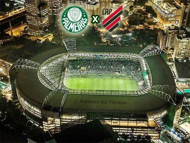 Pré-jogo Palmeiras x Athletico-PR