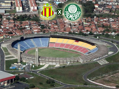 Pré-jogo Sampaio Corrêa x Palmeiras