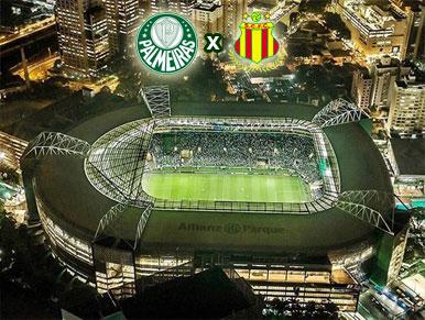 Pré-jogo Palmeiras x Sampaio Corrêa