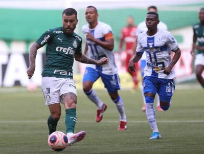 Palmeiras 2x1 Água Santa