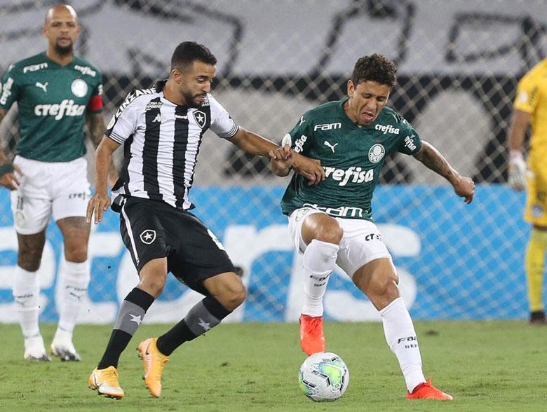 Botafogo 2x1 Palmeiras