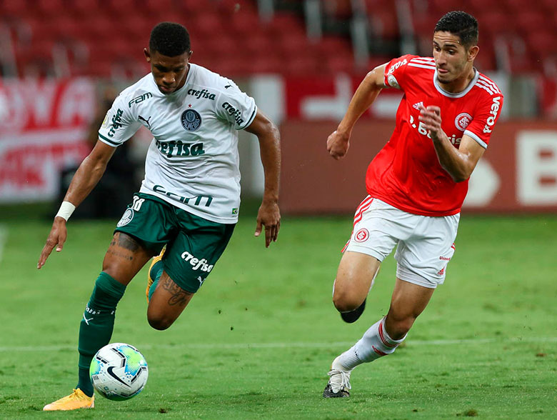 Internacional 2x0 Palmeiras