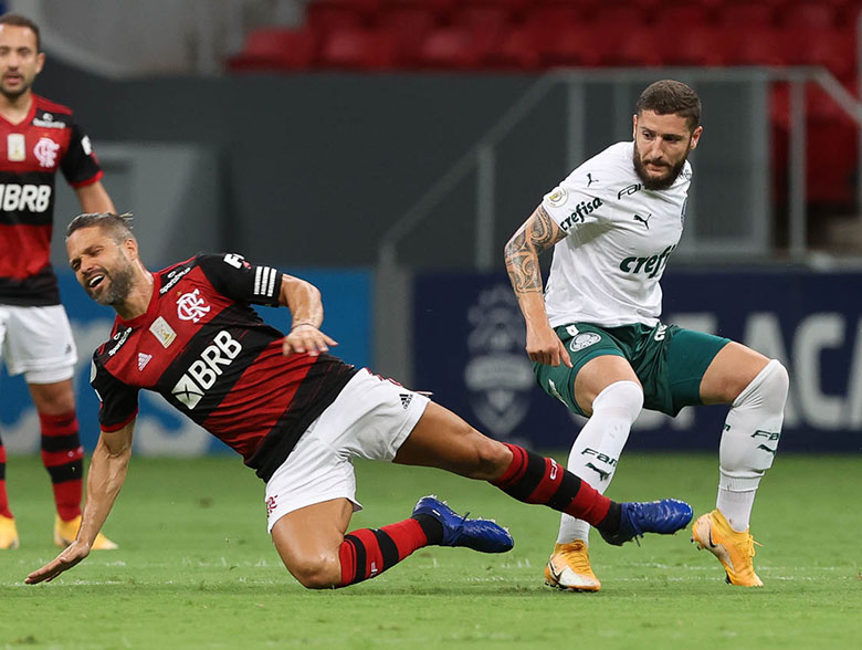 Flamengo 2x0 Palmeiras