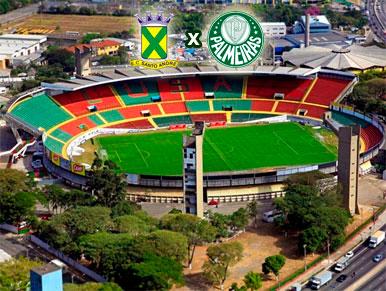 Pré-jogo Santo André x Palmeiras