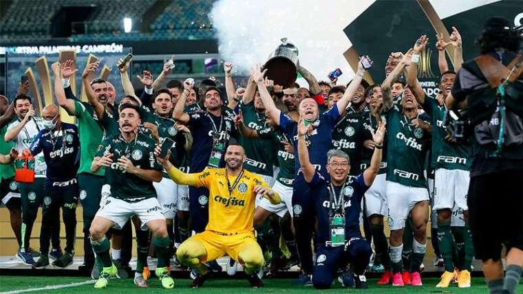 Palmeiras campeão Conmebol Libertadores 2020