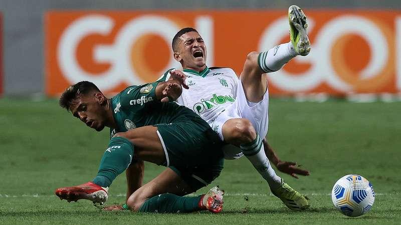 América-MG 2x1 Palmeiras
