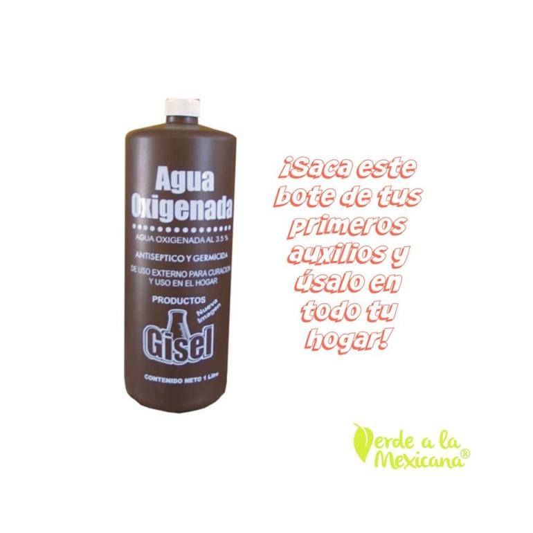 agua oxigenada para reemplazar aceite de pino