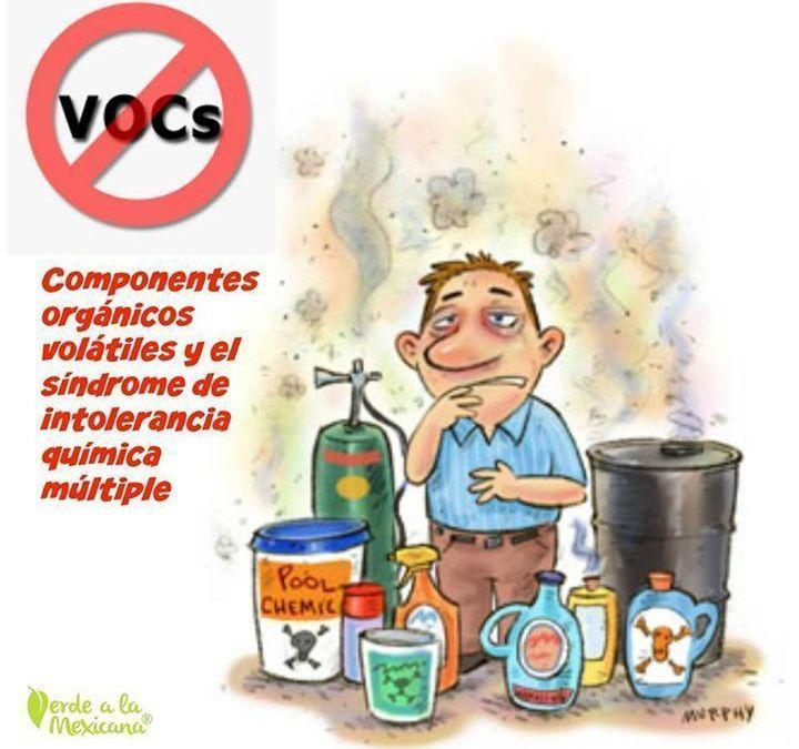 Los aromas que te enferman: componentes orgánicos volátiles y el síndrome de intolerancia química múltiple