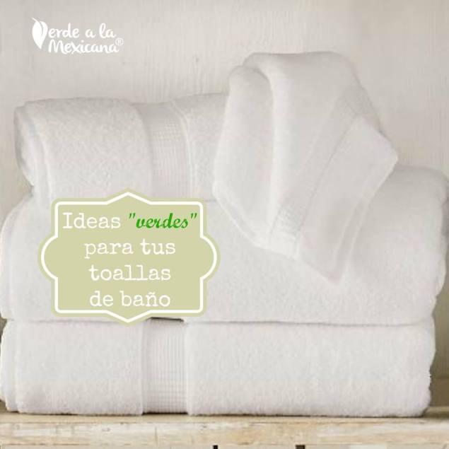 como lavar las toallas