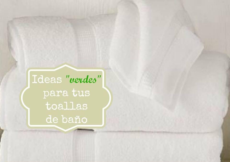 Cómo lavar las toallas de baño