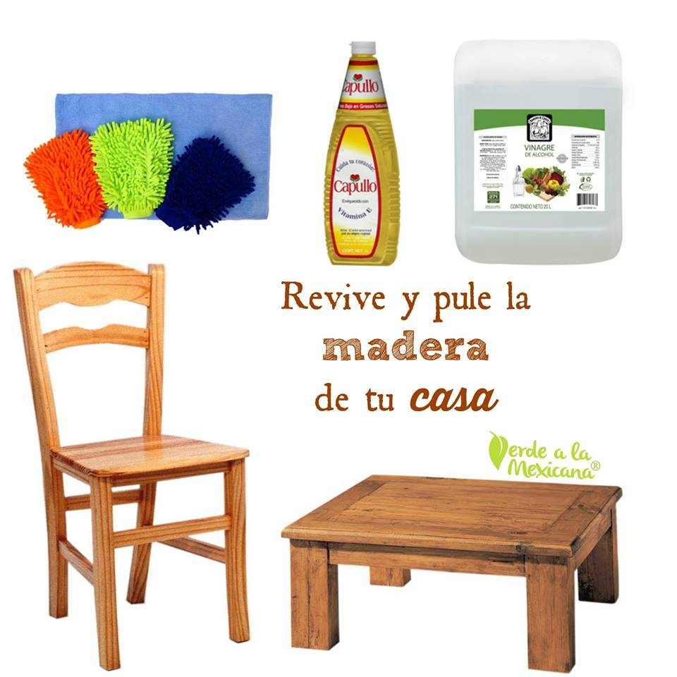 Como Limpiar Los Muebles De Madera Sin Usar Qu Micos T Xicos  # Muebles Toxicos