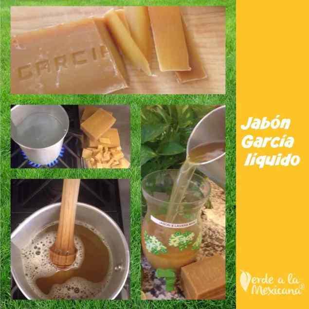 como preparar el jabon garcia liquido
