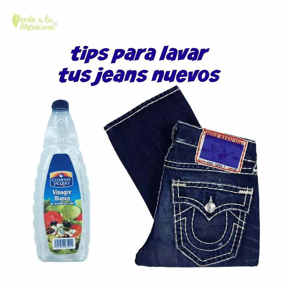e128557b41 Cómo lavar tus jeans nuevos - Verde a la mexicana