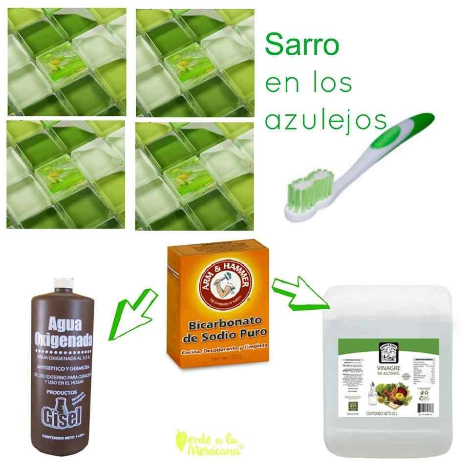 Cómo quitar el sarro en los azulejos sin químicos tóxicos - Verde a ...