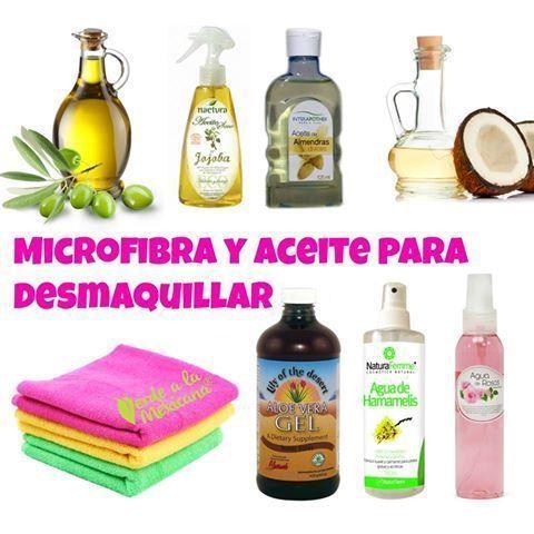 Receta de aceite bifasico limpiador