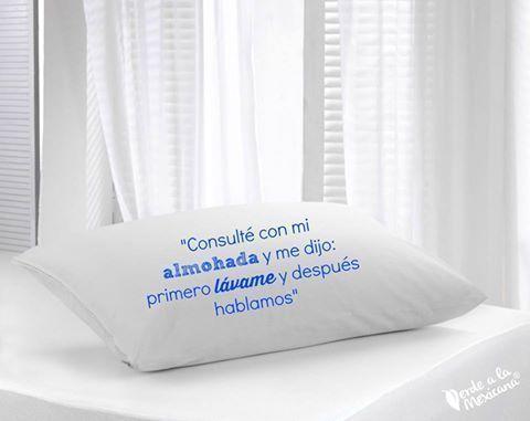 como lavar tus almohadas
