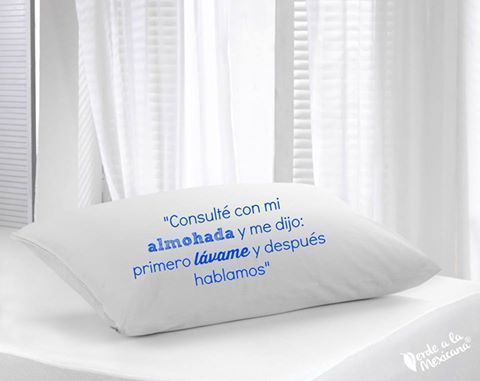 Cómo lavar tus almohadas