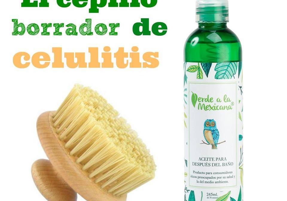 El cepillo borrador de celulitis