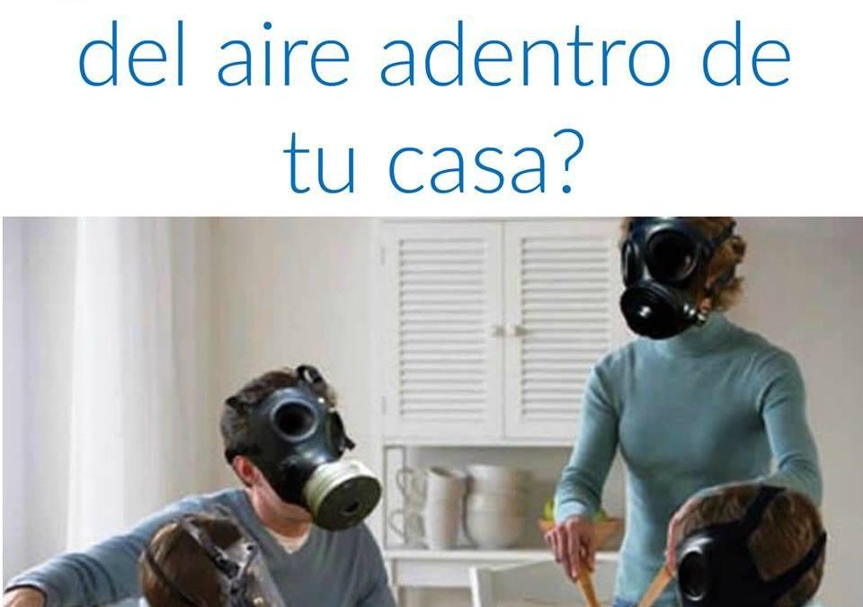 ¿Cómo es la calidad del aire dentro de tu casa?