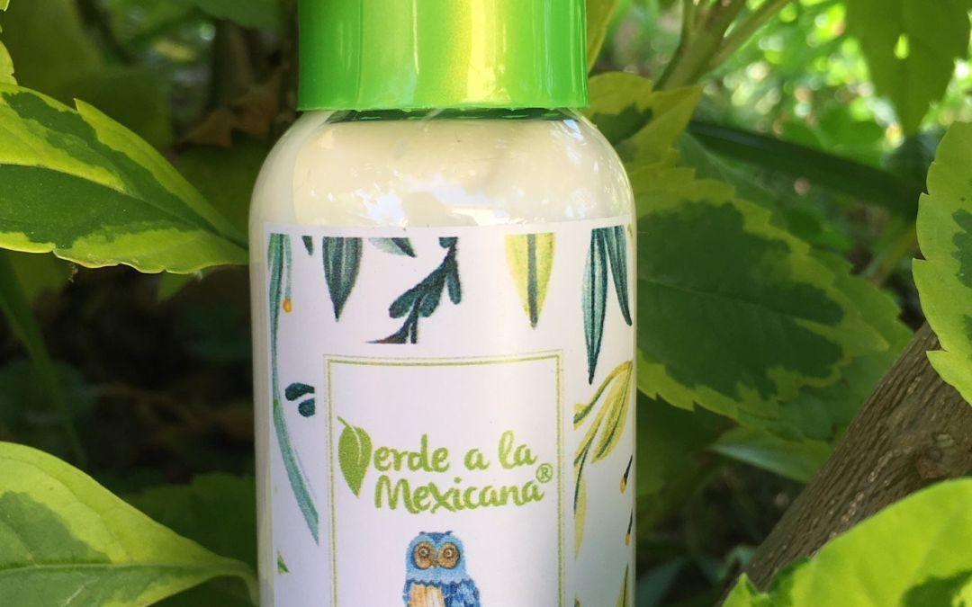 Repelente para moscos natural y vegano