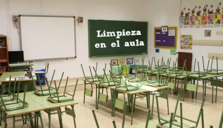 Limpieza en el aula