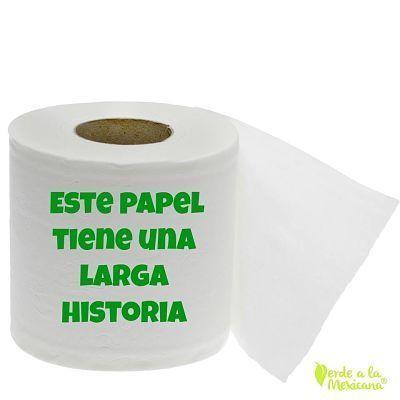 Sobre el papel de baño