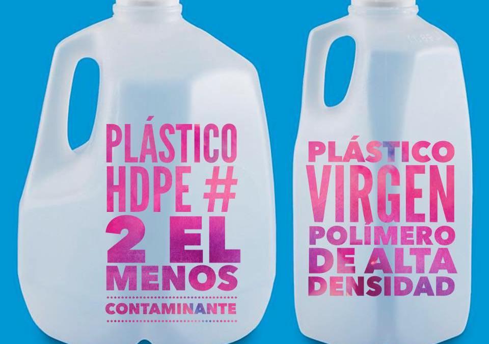 El plástico menos contaminante
