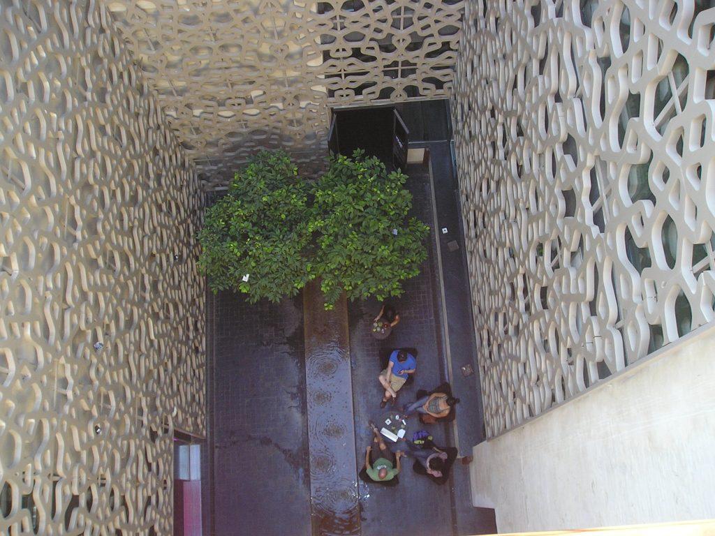 Ejemplos de Jardines : Patio Hotel Eme Sevilla