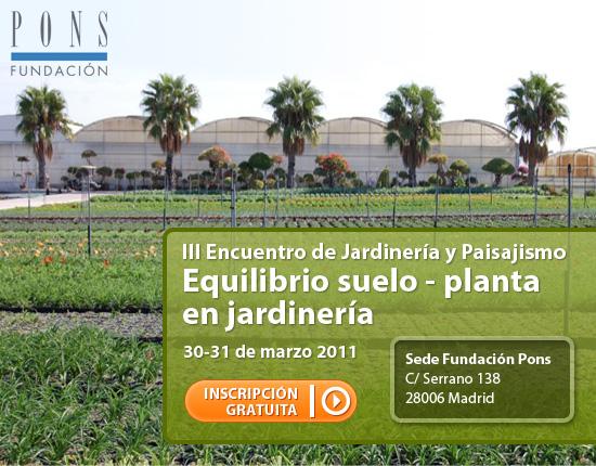 Encuentro de Jardinería y Paisajismo en la Fundación Pons