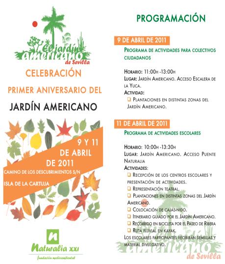 Aniversario Jardín Americano
