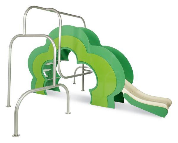 Parques infantiles diseñados por Agatha Ruiz de la Prada : Toboganes